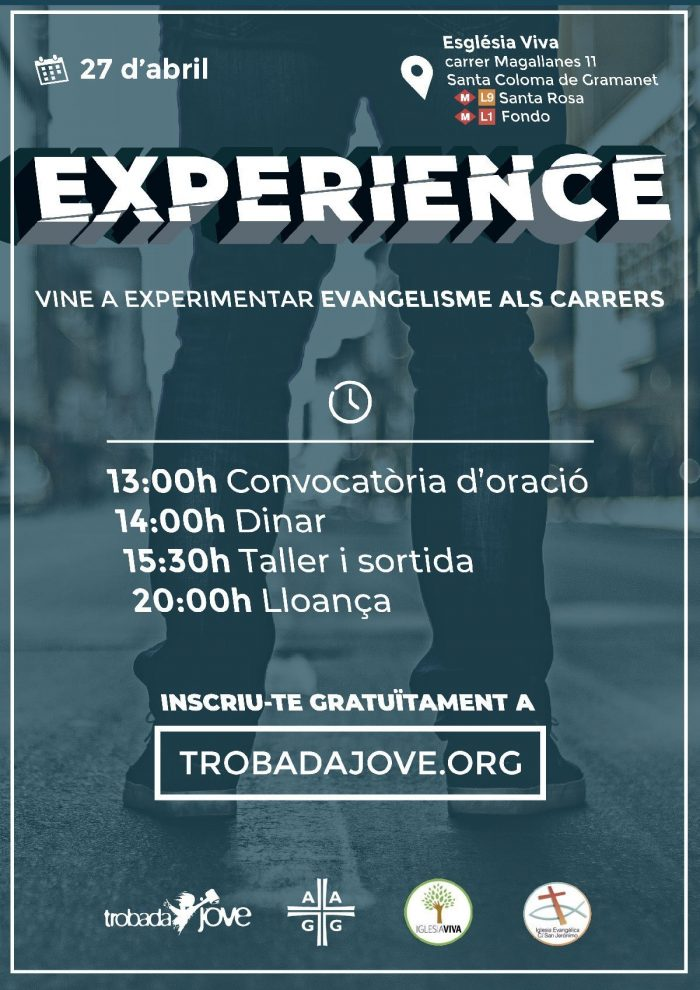 Experience 27 d'abril